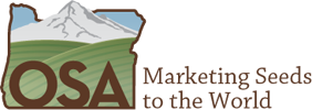 Oregon Seed Association logo - Marketing Seeds to the World